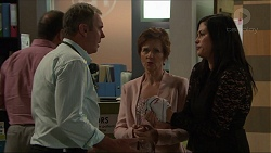 Karl Kennedy, Susan Kennedy, Sarah Beaumont in Neighbours Episode 7348