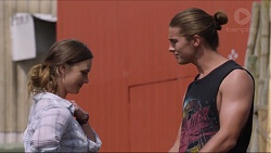 Amy Williams, Tyler Brennan in Neighbours Episode 7348