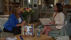 Terese Willis, Julie Quill in Neighbours Episode 7349