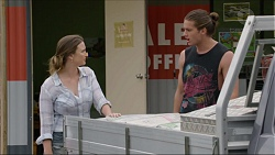 Amy Williams, Tyler Brennan in Neighbours Episode 7349