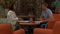 Julie Quill, Daniel Robinson in Neighbours Episode 7349