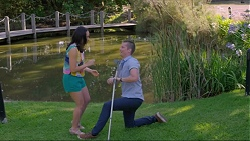 Imogen Willis, Daniel Robinson in Neighbours Episode 7349