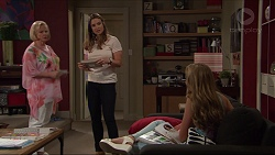Sheila Canning, Amy Williams, Xanthe Canning in Neighbours Episode 7350