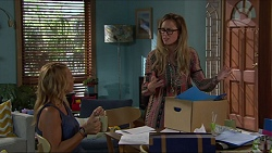 Steph Scully, Sonya Mitchell in Neighbours Episode 7350