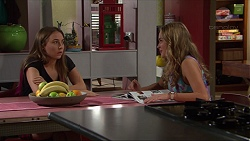 Piper Willis, Xanthe Canning in Neighbours Episode 7350