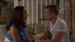 Piper Willis, Daniel Robinson in Neighbours Episode 7351