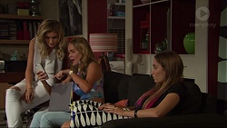 Madison Robinson, Xanthe Canning, Piper Willis in Neighbours Episode 7351