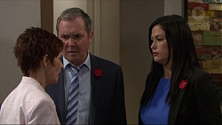 Susan Kennedy, Karl Kennedy, Sarah Beaumont in Neighbours Episode 7351