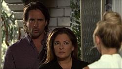 Brad Willis, Terese Willis, Madison Robinson in Neighbours Episode 7352