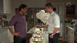 Brad Willis, Daniel Robinson in Neighbours Episode 7352