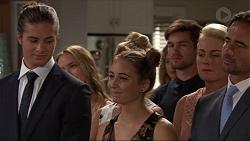 Tyler Brennan, Xanthe Canning, Piper Willis, Ned Willis, Lauren Turner, Brad Willis in Neighbours Episode 7352