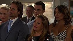 Lauren Turner, Brad Willis, Karl Kennedy, Jack Callahan, Terese Willis, Paige Smith in Neighbours Episode 7352