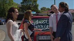 Imogen Willis, Terese Willis, Daniel Robinson, Brad Willis in Neighbours Episode 7352