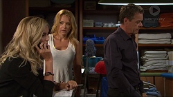 Madison Robinson, Steph Scully, Paul Robinson in Neighbours Episode 7353