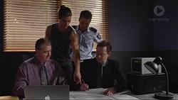 Tyler Brennan, Mark Brennan in Neighbours Episode 7353