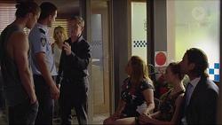 Tyler Brennan, Mark Brennan, Steph Scully, Paul Robinson, Terese Willis, Piper Willis, Brad Willis in Neighbours Episode 7353
