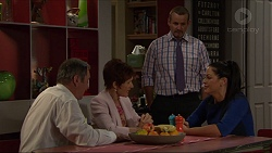 Karl Kennedy, Susan Kennedy, Toadie Rebecchi, Sarah Beaumont in Neighbours Episode 7353