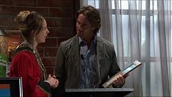 Sonya Rebecchi, Brad Willis in Neighbours Episode 7353