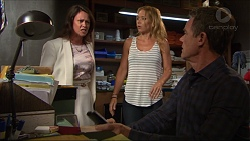 Julie Quill, Steph Scully, Paul Robinson in Neighbours Episode 7354