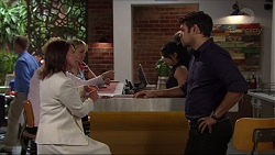 Julie Quill, Nate Kinski in Neighbours Episode 7354