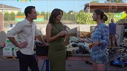 Jack Callahan, Paige Smith, Amy Williams in Neighbours Episode 7355