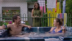 Paige Smith, Jack Callahan, Amy Williams in Neighbours Episode 7355