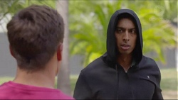 Aaron Brennan, Tom Quill in Neighbours Episode 7355