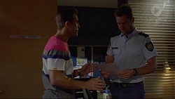 Aaron Brennan, Mark Brennan in Neighbours Episode 7356