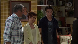 Karl Kennedy, Susan Kennedy, Ben Kirk in Neighbours Episode 7356