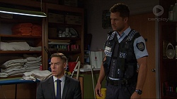 Glen Darby, Mark Brennan in Neighbours Episode 7356