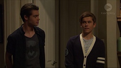 Ben Kirk, Angus Beaumont-Hannay in Neighbours Episode 7356