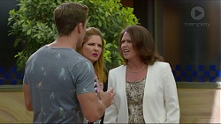 Aaron Brennan, Terese Willis, Julie Quill in Neighbours Episode 7357