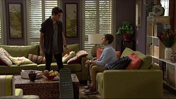 Ben Kirk, Angus Beaumont-Hannay in Neighbours Episode 7357