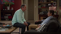 Karl Kennedy, Angus Beaumont-Hannay in Neighbours Episode 7357