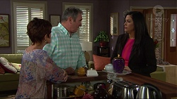Susan Kennedy, Karl Kennedy, Sarah Beaumont in Neighbours Episode 7358