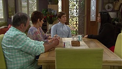 Karl Kennedy, Susan Kennedy, Angus Beaumont-Hannay, Sarah Beaumont in Neighbours Episode 7358