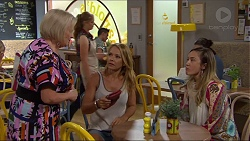 Sheila Canning, Xanthe Canning, Steph Scully, Sonya Rebecchi in Neighbours Episode 7358