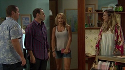 Toadie Rebecchi, Stonie Rebecchi, Steph Scully, Sonya Rebecchi in Neighbours Episode 7358