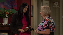 Sarah Beaumont, Sheila Canning in Neighbours Episode 7358