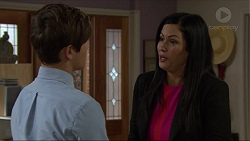 Angus Beaumont-Hannay, Sarah Beaumont in Neighbours Episode 7358