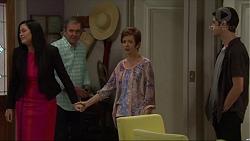 Sarah Beaumont, Karl Kennedy, Susan Kennedy, Ben Kirk in Neighbours Episode 7358