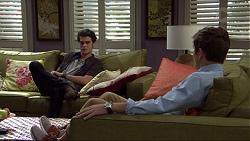 Ben Kirk, Angus Beaumont-Hannay in Neighbours Episode 7358