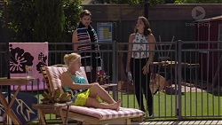 Lauren Turner, Ned Willis, Paige Novak in Neighbours Episode 7359