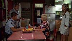Mark Brennan, Toadie Rebecchi, Sheila Canning, Xanthe Canning in Neighbours Episode 7359
