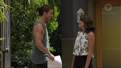 Tyler Brennan, Paige Novak in Neighbours Episode 7359