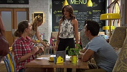 Amy Williams, Paige Novak, Jack Callaghan in Neighbours Episode 7359