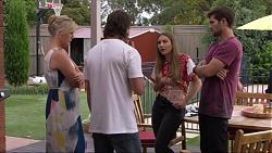 Lauren Turner, Brad Willis, Piper Willis, Ned Willis in Neighbours Episode 7359