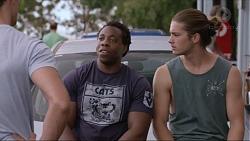 Steven Aniston, Tyler Brennan in Neighbours Episode 7360