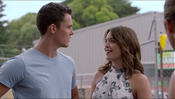 Jack Callaghan, Paige Novak in Neighbours Episode 7360