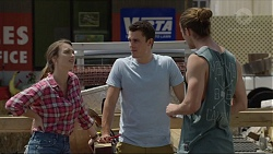 Amy Williams, Jack Callaghan, Tyler Brennan in Neighbours Episode 7360